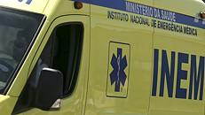 Feridos graves do despiste na A2 transportados para hospitais de Lisboa e Portimão