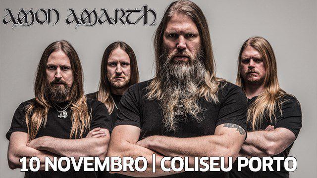 AMON AMARTH + TESTAMENT + GRAND MAGUS