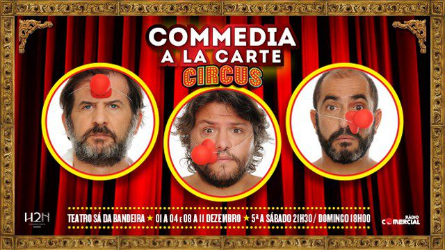 COMMEDIA A LA CARTE | CIRCUS
