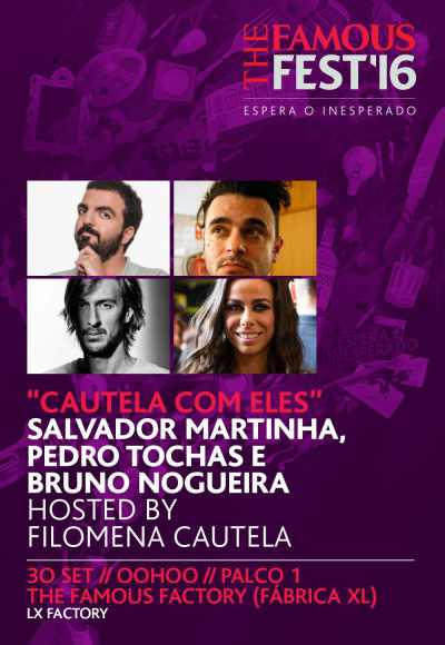 The Famous Fest - Cautela Com Eles