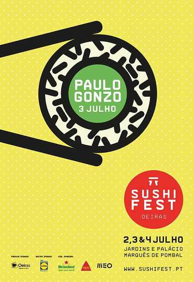 Sushi Fest Oeiras 2015 | Paulo Gonzo