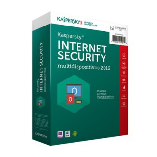 Kaspersky Internet Security 2017 5U1Y