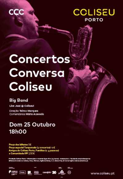 Concerto Conversa Coliseu - Esmae Big Band