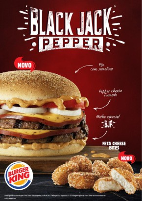 Black Jack Pepper - Folheto Burger King de 18 jun 2019 a 09 set 2019
