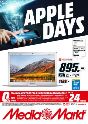 Apple days - Folheto Media Markt de 18 abr 2019 a 24 abr 2019