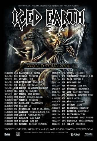 Iced Earth + Special Guest