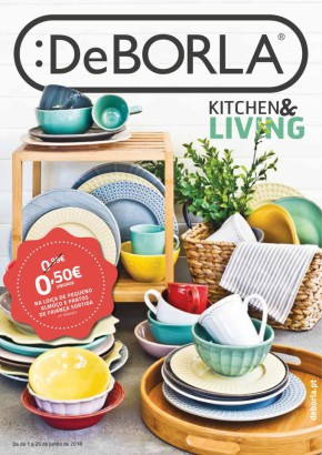 Kitchen & Living - Folheto DeBORLA de 01 jun 2018 a 25 jun 2018