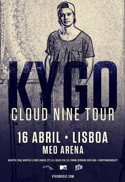 Kygo - Cloud Nine Tour