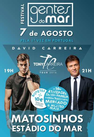 Gentes Do Mar - David Carreira - Tony Carreira