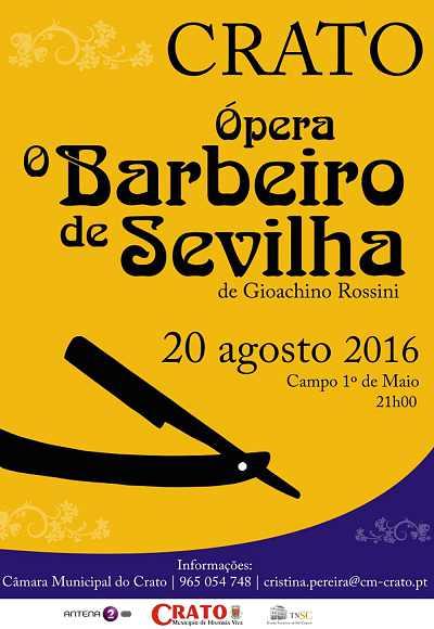 Barbeiro De Sevilha - Ópera   Crato