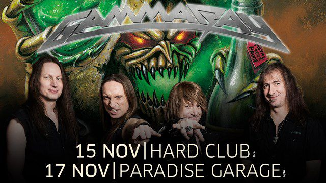 GAMMA RAY + SERIOUS BLACK + SPECIAL GUESTS