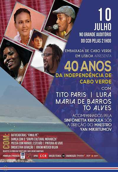 Gala 40º Aniversário Independência De Cabo Verde
