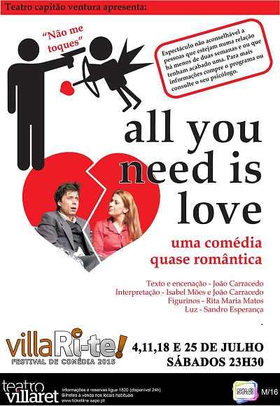 3º Villari-Te I All You Need Is Love
