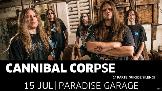 CANNIBAL CORPSE + SUICIDE SILENCE