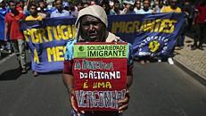 Centenas protestaram em Lisboa contra novas regras de imigração