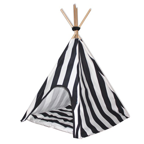 Indie Stripes / Dog Teepee
