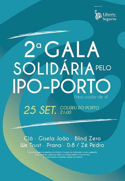 Ii Gala Solidária Ipo Porto - Para Cuidar De Si!