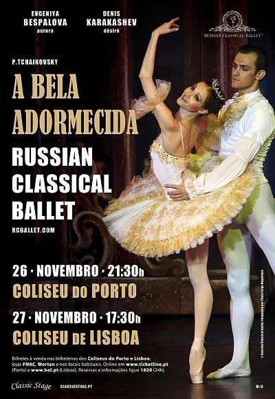 A Bela Adormecida | Russian Classical Ballet