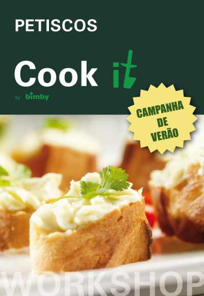 Cook It By Bimby - Workshop Petiscos