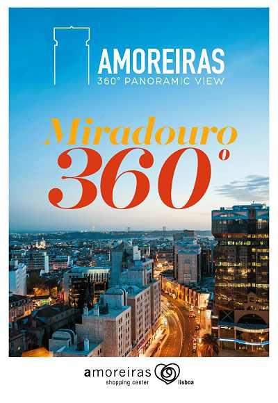 Miradouro Amoreiras<Br>360 Panoramic View