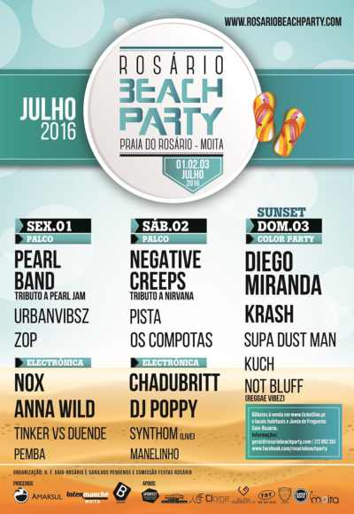 Rosário Beach Party 2016