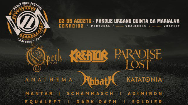 VOA 2016 - VAGOS OPEN AIR