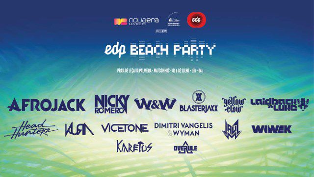 EDP BEACH PARTY NOVA ERA APRESENTA