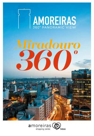 Miradouro Amoreiras<Br>360 Panoramic View