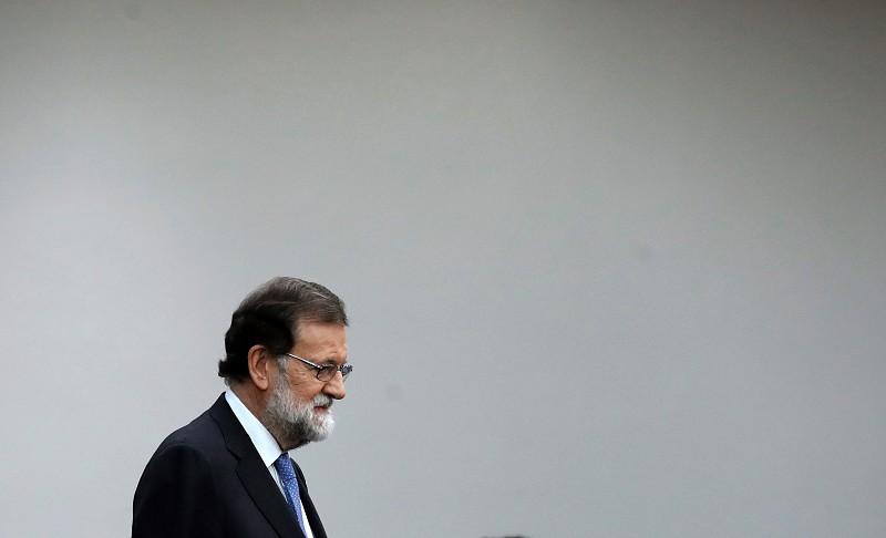 """Resultado de imagem para Catalunha. """"Seja qual for a solução, o governo resultante estará submetido ao império da lei"""", diz Rajoy"""