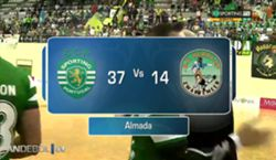 ANDEBOL - SPORTING CP - HURRY-UP (CHALLENGE CUP)