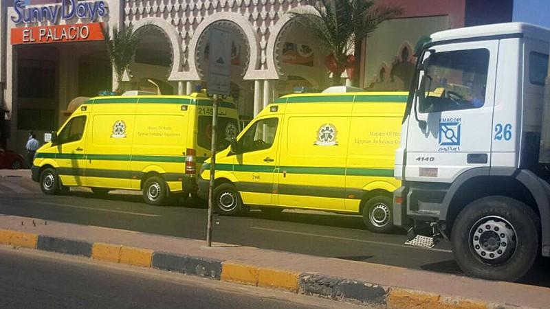 Resultado de imagem para Duas turistas ucranianas mortas e quatro alemãs feridas em ataque com arma branca no Egito