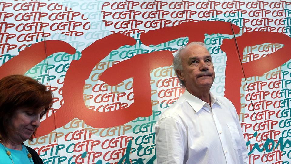 CGTP promove hoje concentrações em Lisboa, Porto e Braga