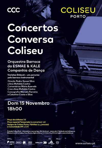 Concerto Conversa Coliseu - Orq. Barroca Da Esmae