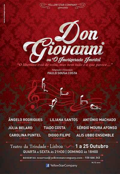 Don Giovanni Ou O Imorigerado Imortal