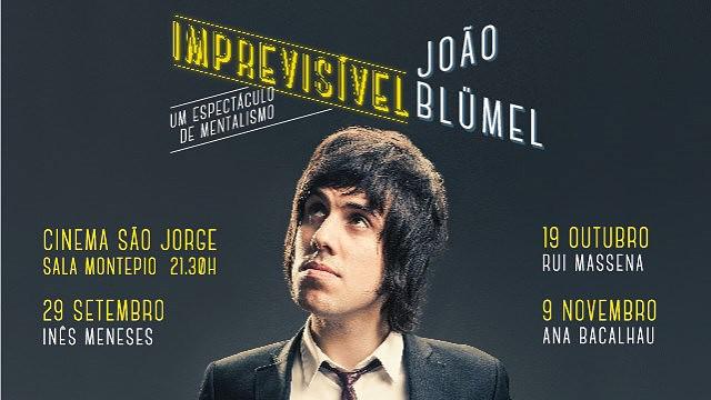 JOÃO BLÜMEL IMPREVISÍVEL
