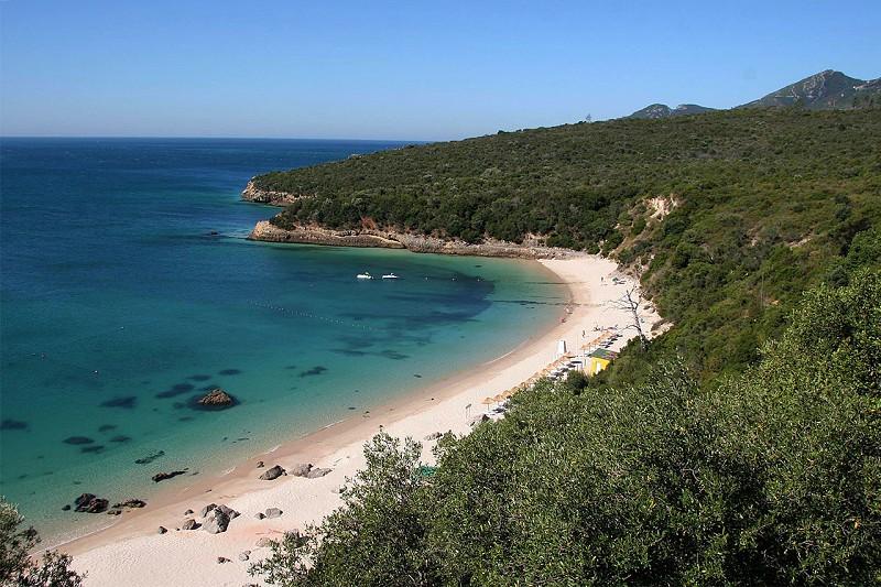 Praia de Galapinhos, em Setúbal