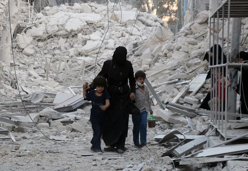 Aleppo na Síria, o inferno na terra