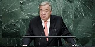 """Resultado de imagem para António Guterres diz na sede da ONU que não é nenhum """"milagreiro"""""""