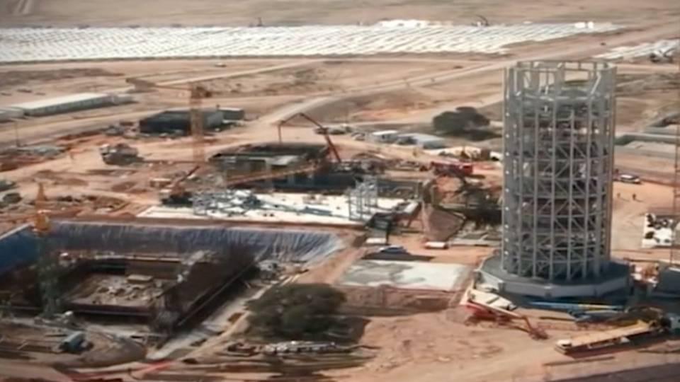 Vai ter 240 metros e será a maior torre solar do mundo