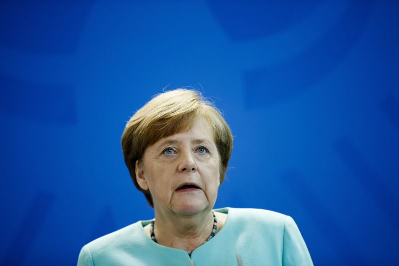 epa06005115 German Chancellor Angela Merkel speaks during a press conference in Berlin, Germany, 02 June 2017. The Chancellor reacts to the decision of US President Trump to withdraw from the climate agreement. US President Donald Trump announced on 01 July 2017 that he is withdrawing America from the Paris (climate) accord. The Paris Agreement brings all nations into a common cause to undertake ambitious efforts to combat climate change and adapt to its effects.  EPA/CARSTEN KOALL