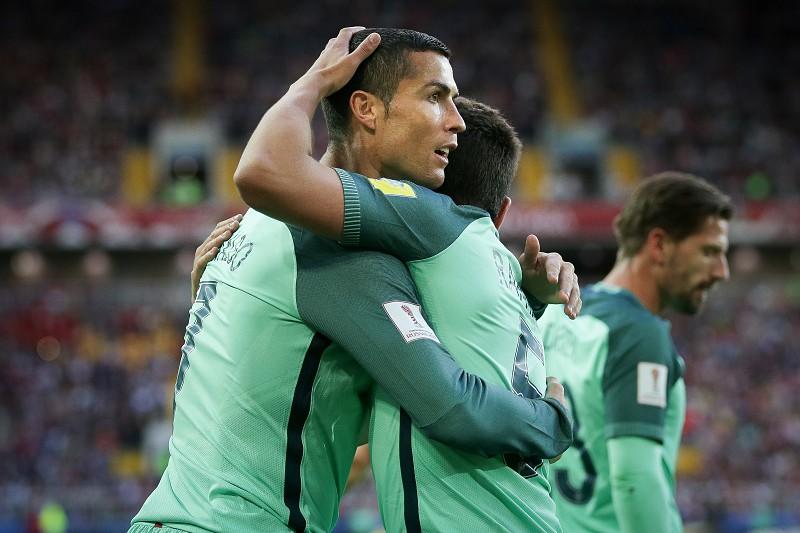 Resultado de imagem para Portugal nas meias finais da Taça das Confederações