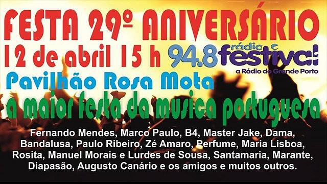 FESTA DO 29º ANIVERSÁRIO DA RÁDIO FESTIVAL