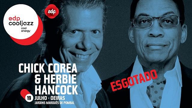 CHICK COREA & HERBIE HANCOCK -12º EDPCOOLJAZZ 2015