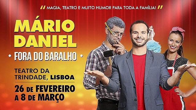 MÁRIO DANIEL I FORA DO BARALHO