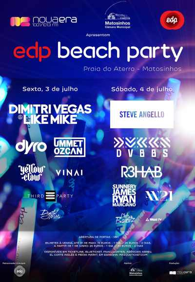 Edp Beach Party Nova Era