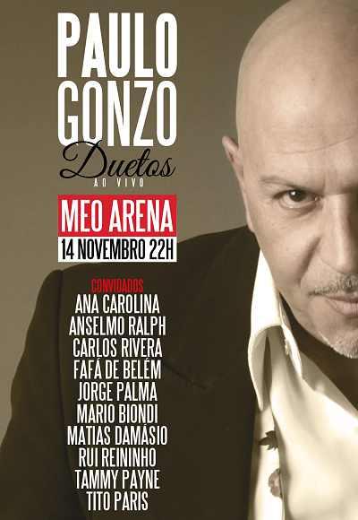 Paulo Gonzo - Duetos Ao Vivo