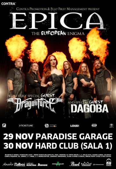 Epica + Dragonforce + Dagoba
