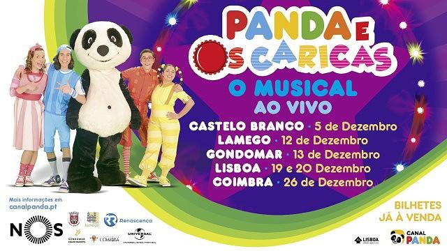 PANDA E OS CARICAS - O MUSICAL