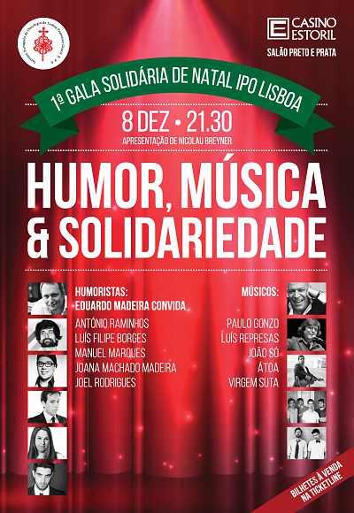 1ª Gala Solidária De Natal Ipo Lisboa