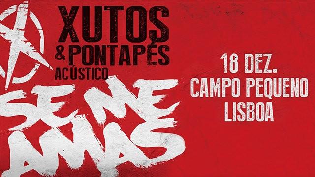 XUTOS & PONTAPÉS - SE ME AMAS - ACÚSTICO